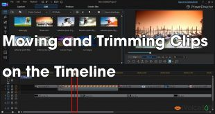 Moving and Trimming Clips   on the Timeline