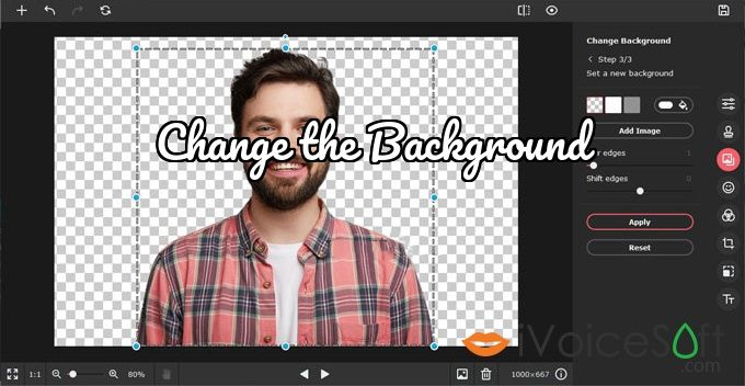 Change the Background