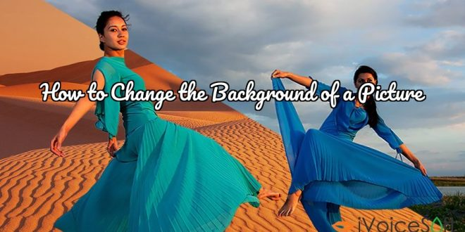 How to Change the Background of a Picture