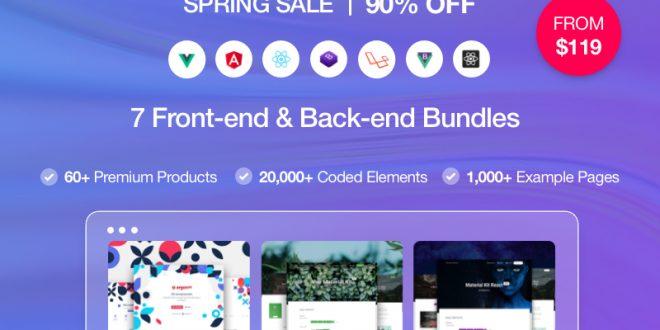 Celebrate Spring with Creative Tim's Spring Sale!