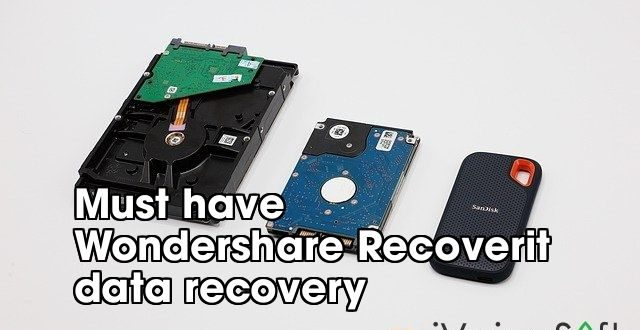 Must have  Wondershare Recoverit  data recovery