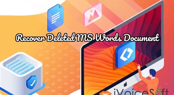 Recover Deleted MS Words Document
